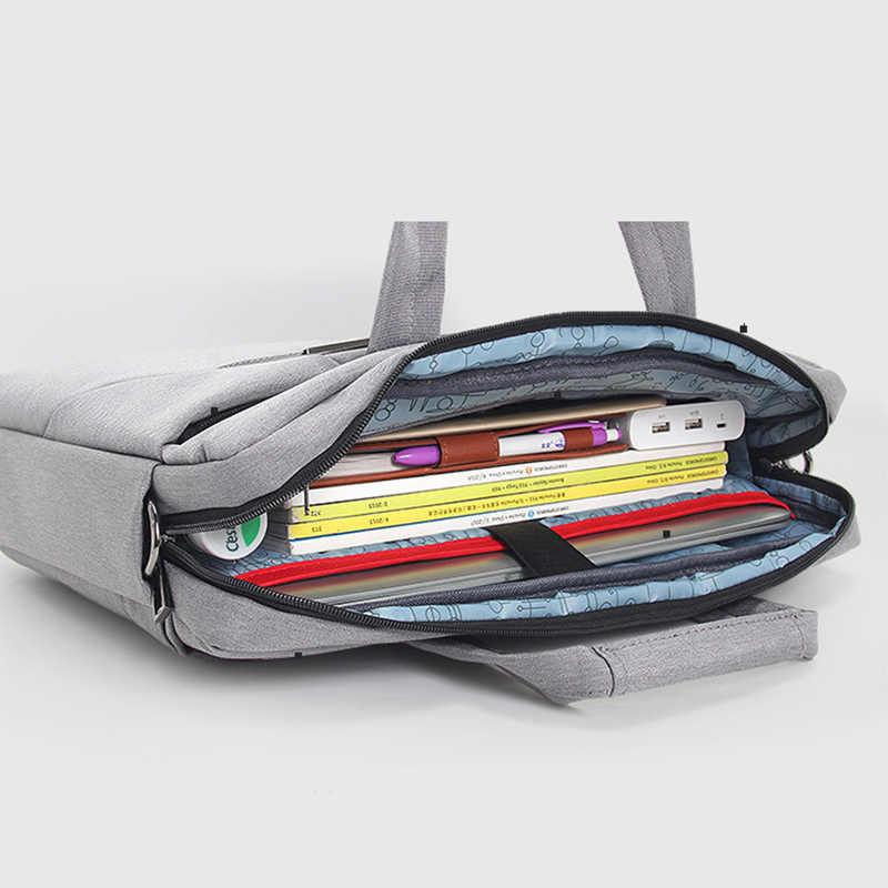 Модная новая холщовая Водонепроницаемая устойчивая к царапинам сумка на плечо для ноутбука 13 15 дюймов сумка для переноски на плечо для анти-осенняя сумочка