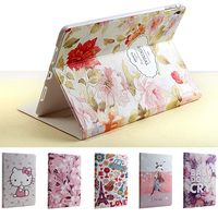 Luxury Designer Case For IPad Pro 9 7 Smart Stand Case 3D Embossing For IPad Air