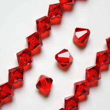 Free shipping wholesale Top Grade 5301 8mm crystal Bicone Beads 200pcs Mix Colors Jewelry