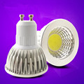 Super Bright gu10 cob 3W 5W 7W led Gu10 cob LED Bulb 110V 220V led gu10 Dimmable LED Spotlights Warmwhite/White E27 LED Lamp