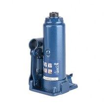 Домкрат гидравлический STELS 51121 (Грузоподъемность 2 т, бутылочный, высота подхвата 18.1 см, высота подъема 34.5 см, пластиковый кейс)