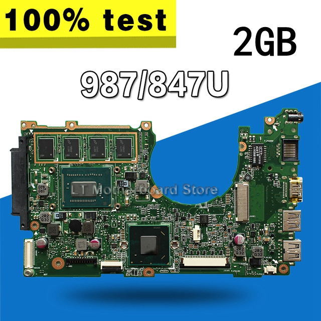 X202E Motherboard 987/847U 2G REV2.0 For ASUS X201E X202E S200E Laptop motherboard X202E Mainboard X202E Motherboard test OK томас вудворд федеральная резервная система мифы и реальность