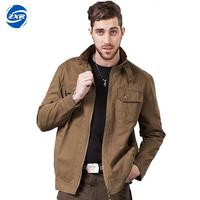 Men Autumn Zipper Cotton Tactical Jacket Windbreakers Casual Male Reversible Clothing Pilot Jacket Mens Army Jackets