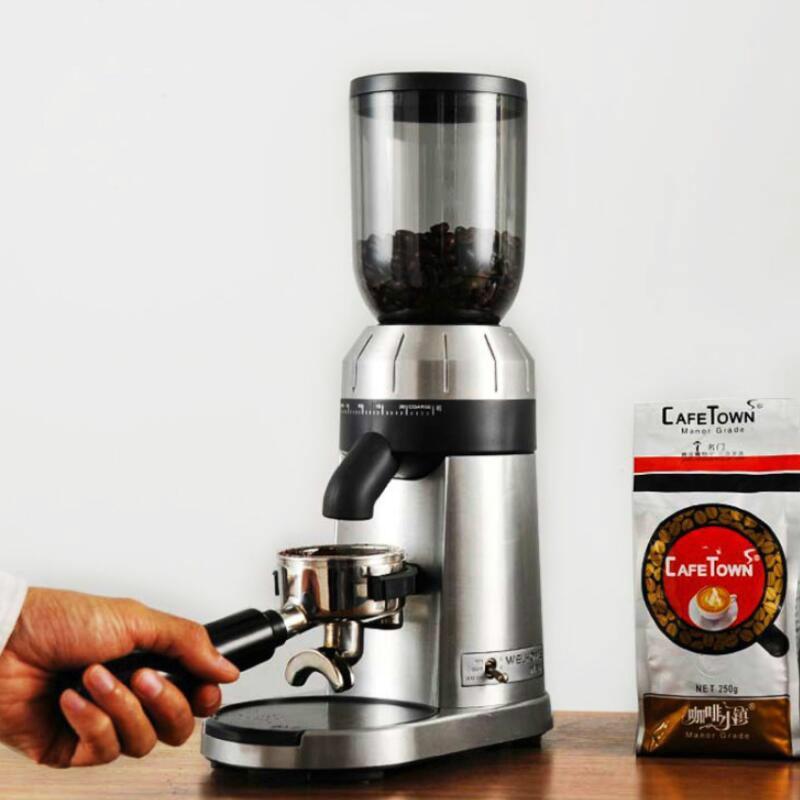 Коммерческая кофемолка бытовая электрическая кофемолка итальянская профессия кофе магазин полностью автоматическая, Жарка кофе кофемолк