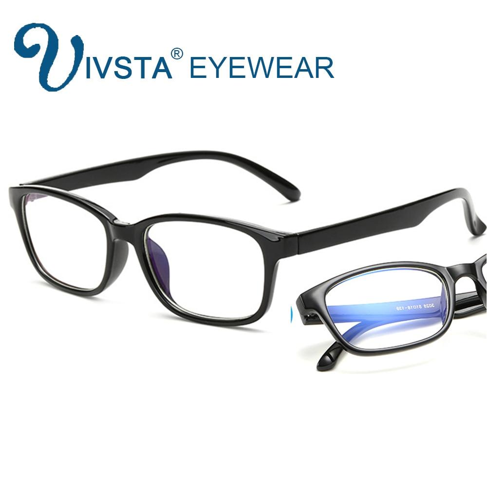 IVSTA Computer Glasses Frames Anti Blue Rays Radiation Men Women Square Glasses Optical Gaming Men Women Game Phone Eyes C028