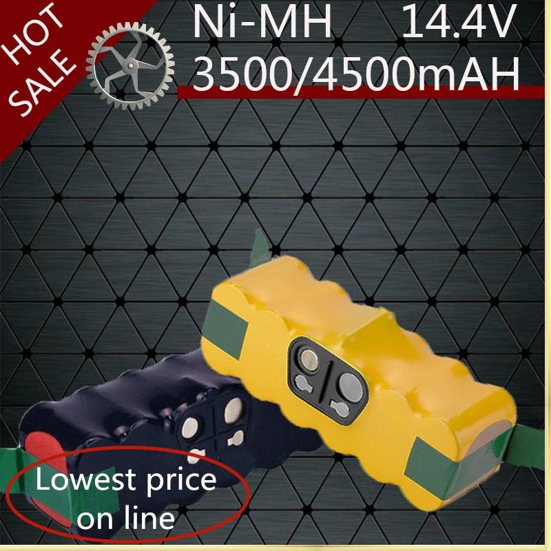 3500/4500 mAh Bateria para Irobot Roomba 500 600 700 800 900 Series vacuum cleaner Irobot Roomba 600 620 650 700 770 780 800
