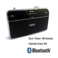 Car Sunvisor Bluetooth hands free system headset Wireless speaker auto interior bluetooth car kit