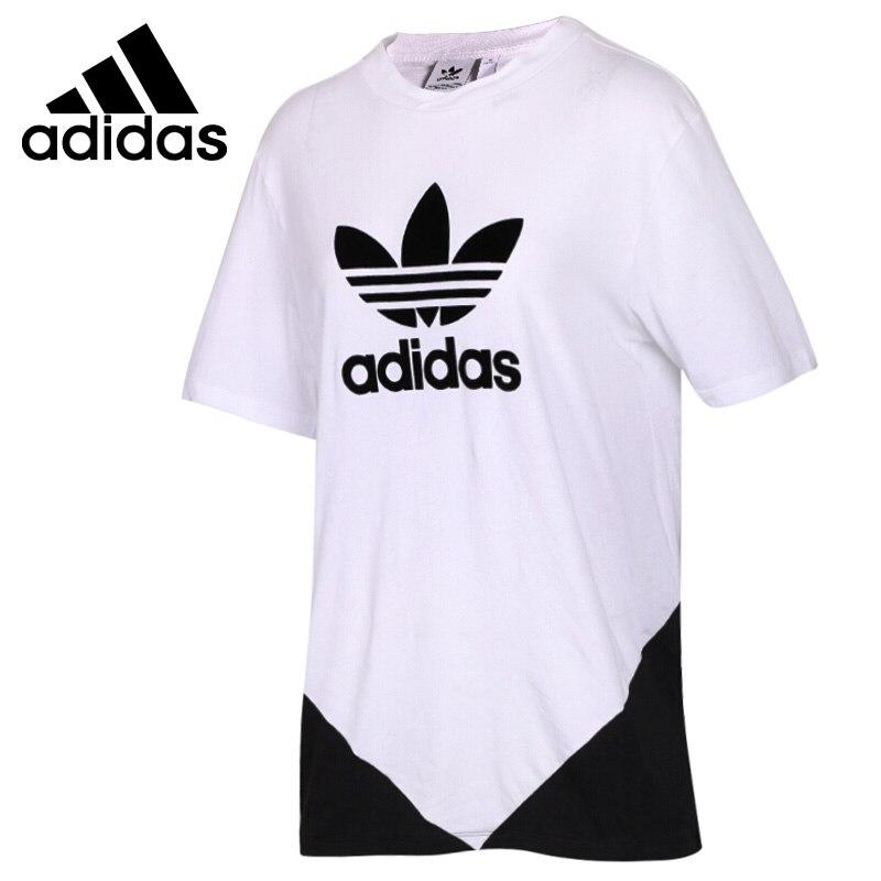Original New Arrival 2018 Adidas Originals CLRDO T-SHIRT Women's T-shirts short sleeve Sportswear original new arrival 2018 adidas originals 3 str t shirt women s t shirts short sleeve sportswear