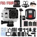 F60/F60R 4 К 30PFS 16MP WIFI Ultra HD Камера yi 1080 P 60PFS 2 Дюймов Дистанционного Управления Водонепроницаемая Cam GO 3 pro hero 4 Действий Камеры