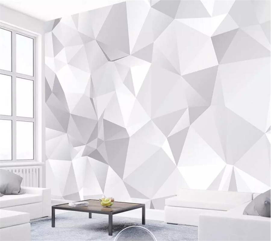 Beibehang Custom Wallpaper 3D Murals Modern Minimalist Fashion Geometric TV Background Wall Papers Home Decor 3d Papel De Parede
