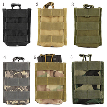 цена на Outdoor Camping tactics Package Pouch Pure Colors Magazine Pouches Outdoor Tactical Walkie Talkie Bags Molle Rifle Pocket