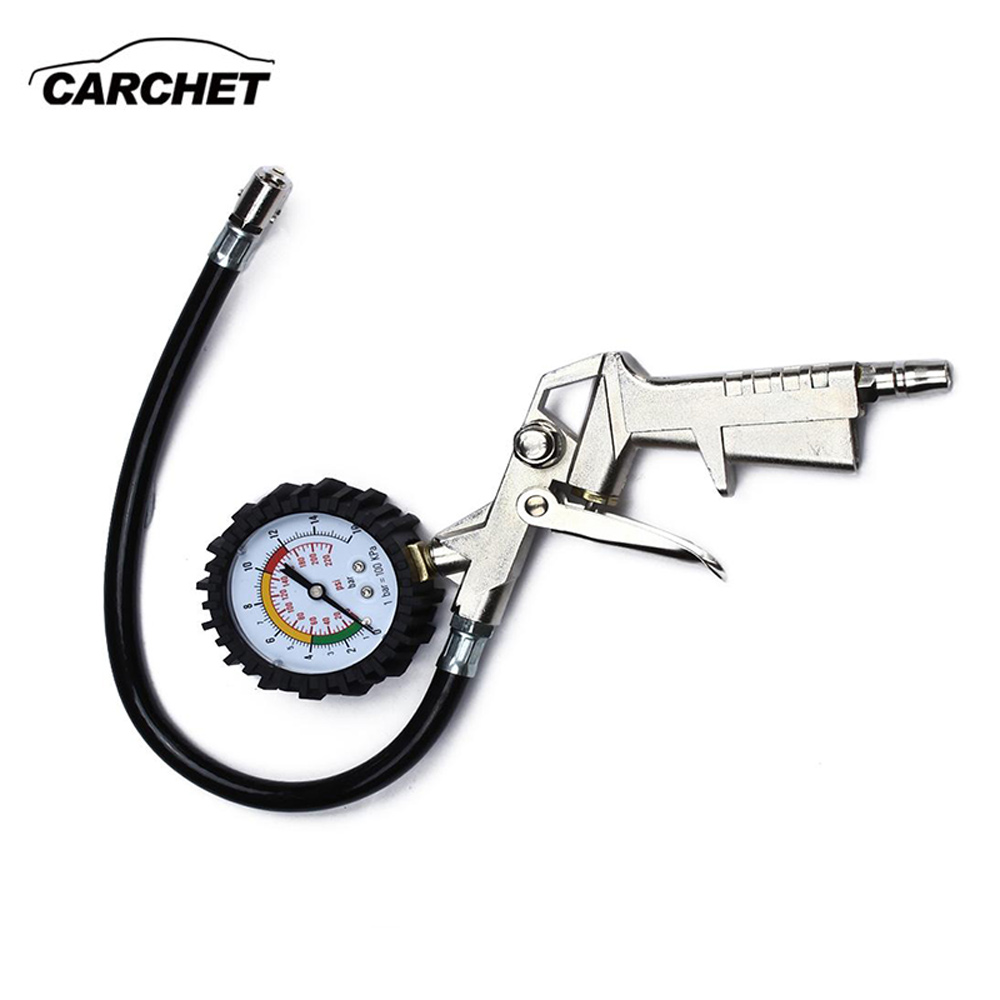 carchet tyre pressure air inflator gun diagnostic tool tire inflator with pressure gauge big. Black Bedroom Furniture Sets. Home Design Ideas