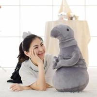2017 New Poplular Stuffed Toy Russia Waiting Plush Toy Zhdun Meme Tubby Gray Blob Cartoon Plush