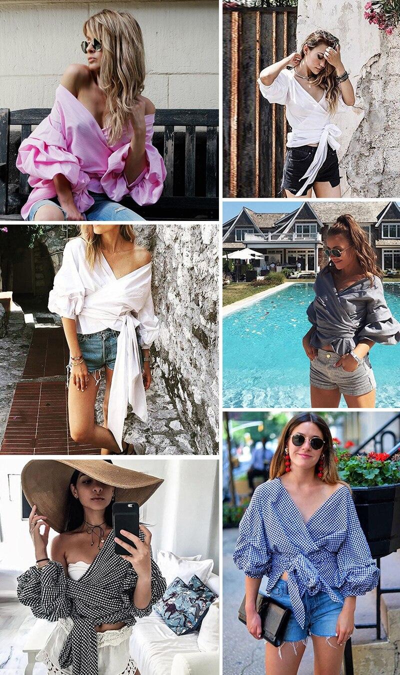 HTB1hU2wNFXXXXcgXXXXq6xXFXXXw - Shoulder ruffle white blouse Sexy cotton cool blouse shirt women