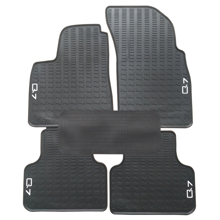 Special Rubber Car Floor Mats For 2009 2017 Year Audi Q7