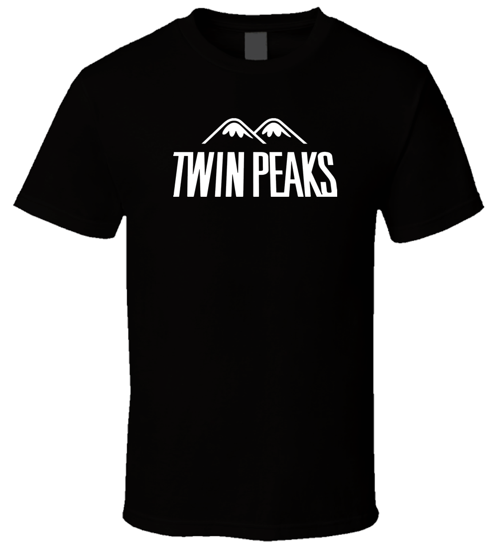 Twin Peaks 3 Black T Shirt Male Pre-Cotton Clothing 100% Cotton 2018 Hot Sale Super Fashion Round Neck Clothes