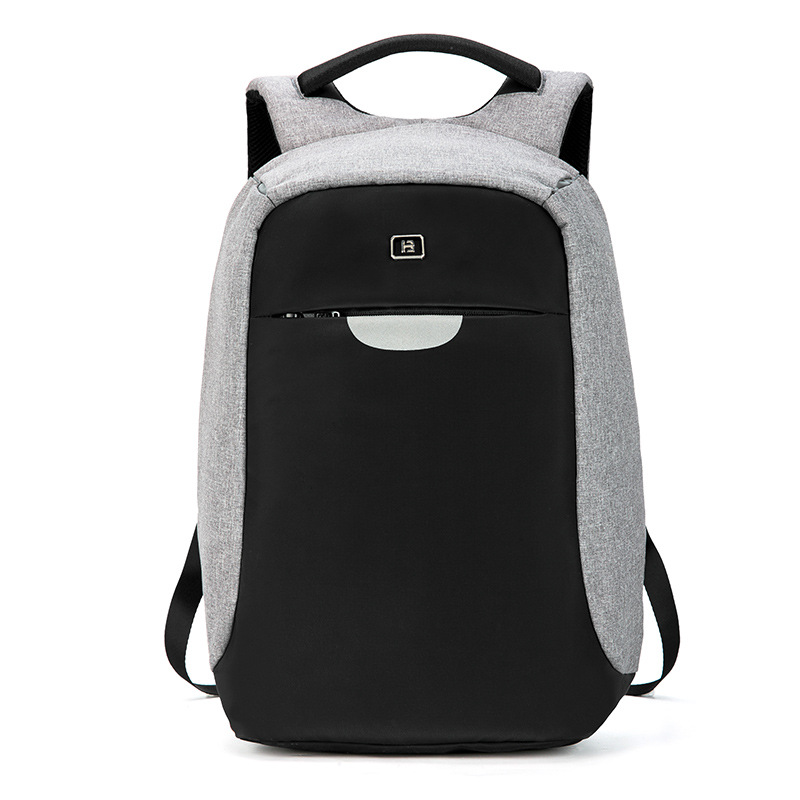 New male computer double shoulder bag multi-purpose anti-theft schoolbag student youth travel rucksack leisure business backpack new fashion brand print double shoulder bag female han edition student schoolbag trend college travel backpack hot selling
