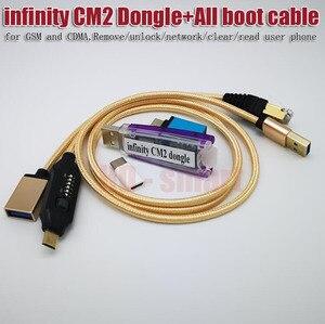 Image 3 - 100% 無限大CM2ボックスドングル + umfすべてブーツケーブルgsmとcdma、削除/ロック解除/ネットワーク/クリア/リードユーザーの電話