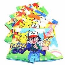 10pcs Boys Underwear Cute Briefs Panties Kids Baby Boxer Briefs Cartoon Pokemon Wholesale Children Boy Underpants недорого