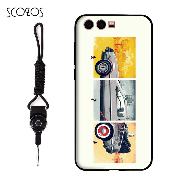SCOZOS Back to the Future Movie Marty McFly Phone Case Soft Cover For Huawei P9 P10 P9 lite P10 lite Honor 9 Mate 9 Mate 10