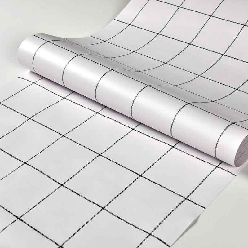 현대 스타일 회색 의류 매장 자기 접착제 벽지 거실 벽화 데칼 홈 장식 솔리드 컬러 방수 벽 스티커