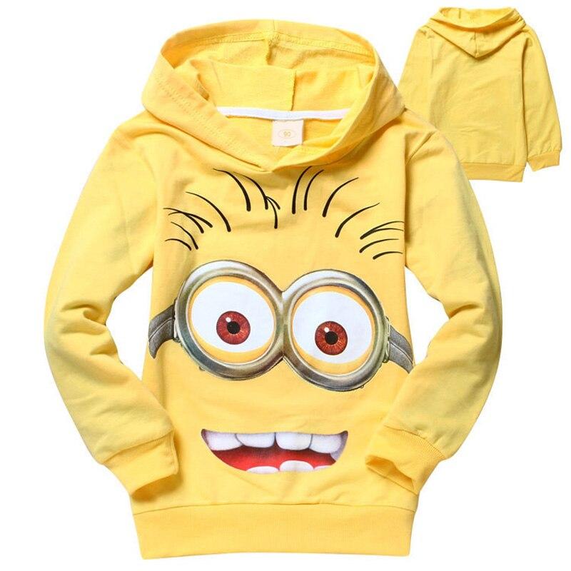새로운 만화 어린이 후드 티 T 셔츠 소년 소녀 겉옷 아기 봄 가을 긴 소매 스웨터