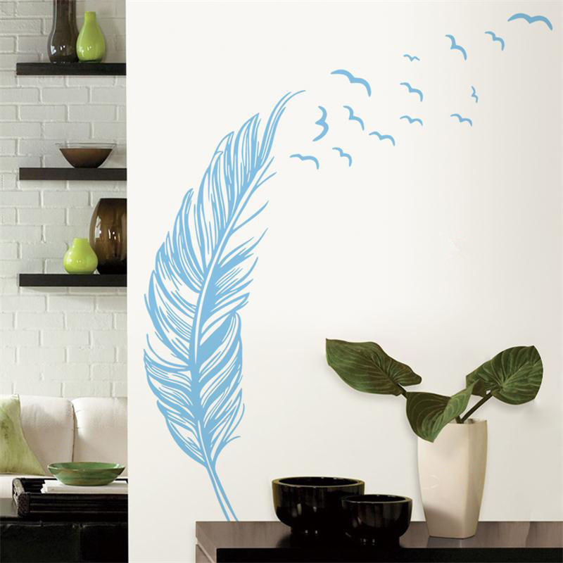 New Awesome Feather Wall Decor Pattern - Wall Art Ideas - dochista.info SR19