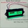 12 В 24 В, 36 В, 48 В литий-ионный аккумулятор или VRLA батареи индикатор питания подходит для 1 s до 15 S Литиевая батарея напряжение и измеритель тока