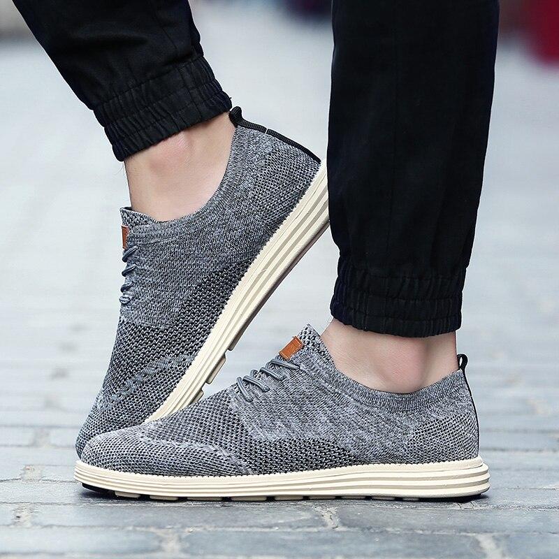 2018 verano nuevos zapatos casuales para hombres de época zapatos formales de cuero calado tejido tallado Oxfords Zapatos de vestir de boda transpirables - 4