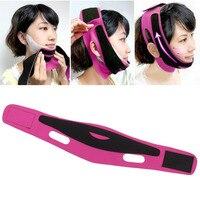Face Lift Up Belt Sleeping Face-Lift Mask Massage Slimming Face Shaper Relaxation + 7Pcs Facial Mask Anti Wrinkle Sagging Strap