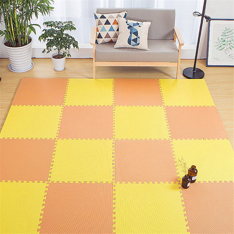 30cm Child Safety EVA Puzzle Mats Foam Decorative Kids Room For Crawling Play Toys 9-Colour