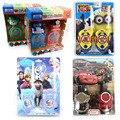 2 pçs/lote Asseclas Carros Princesa Elsa Brinquedo Robô Crianças Jogo Intercom Interphone Walkie Talkie Brinquedo Eletrônico Brinquedos # E