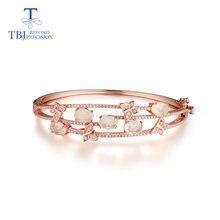 Женский браслет «бабочка» tbj Ювелирное Украшение с природным