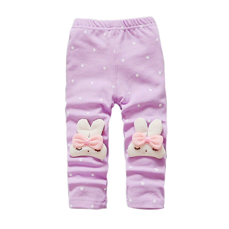 Spring Autumn Baby Pants Animal Toddler Girl Leggings Elastic Waist Kids Pant Trousers Baby Clothes 71