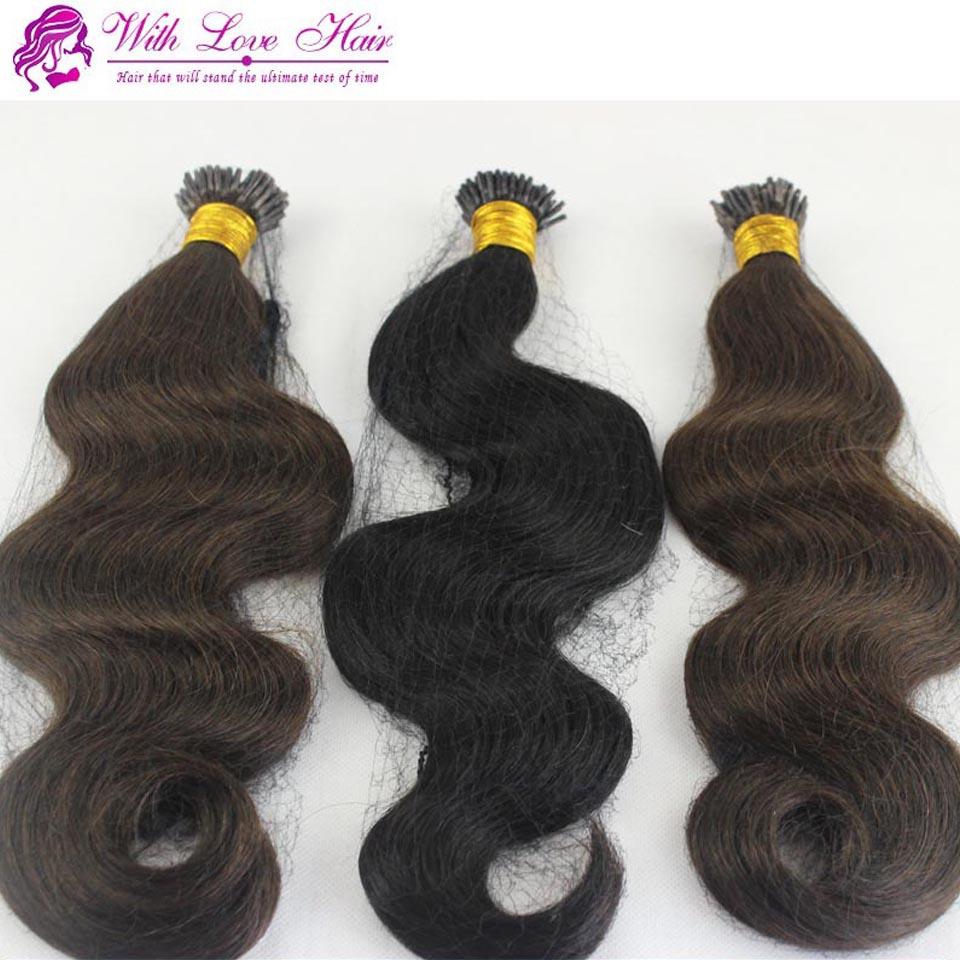 Pre Bonded Body Wave Sticki Tip Hair Extension 100 Gram Per Pack