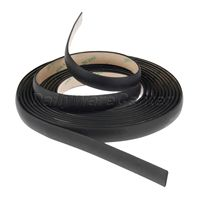 5 Meter Waterproof 3M Rubber Sealed Strips Trim For Auto Car Front Rear Windshield Sunroof Triangular