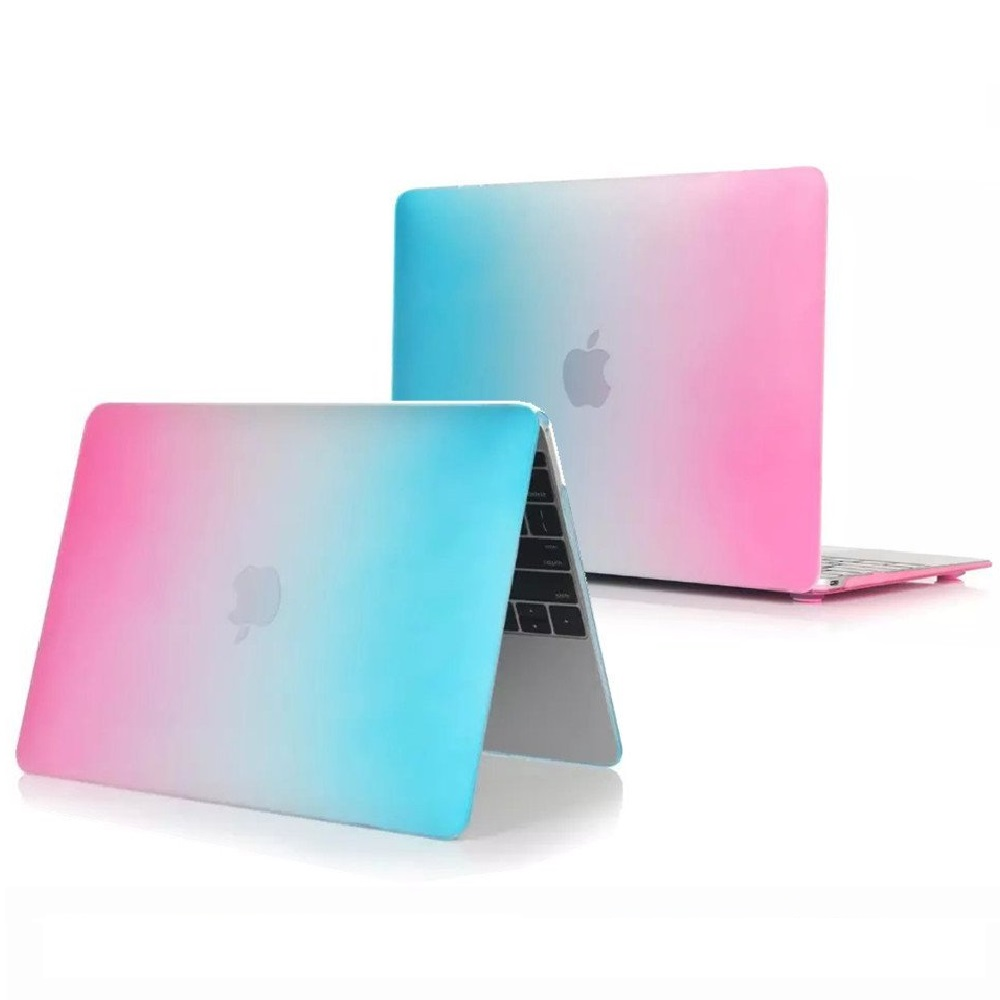 Slim Colorful For Macbook Retina 12 A1534 Laptop Cover Rainbow Hard PVC Coque For Macbook Retina 12 A1534 Laptop Case