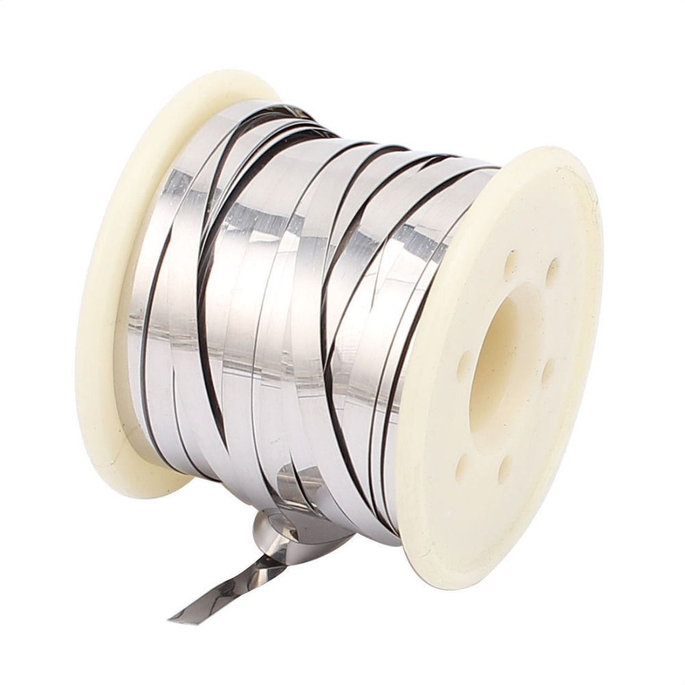 10M 32.8Ft 0.2x4mm Nichrome Flat Heater Wire for Heating Elements-in ...