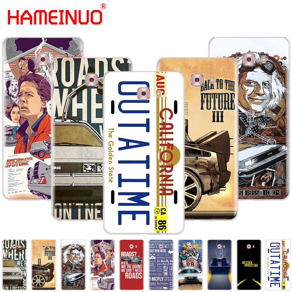 HAMEINUO Back to the Future cover phone case for Samsung Galaxy C5 C7 C8 C9 C10 J2 PRO 2018