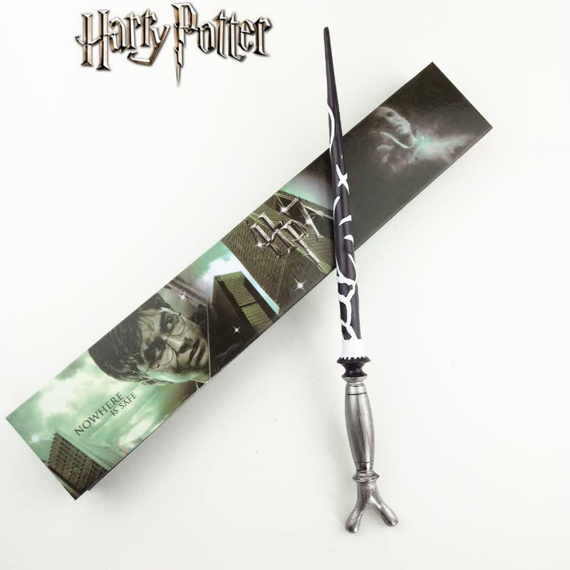 Cosplay Horace.E.F.Slughorn Play Magical Magic Wand Gift In Box Metal Core Harry Potter Magical Wand