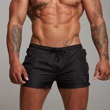 2019 New Mens Swimsuit Sexy Swimwear Men Swimming Shorts Men Briefs Beach Shorts Sports Suits Surf Board Shorts Men Swim Trunks