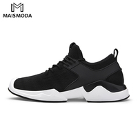 MAISMODA 2018 Outdoor Shoes Men Sport Running Homme Sport Shoes Breathable Stability Sneaker Lace Up Plus