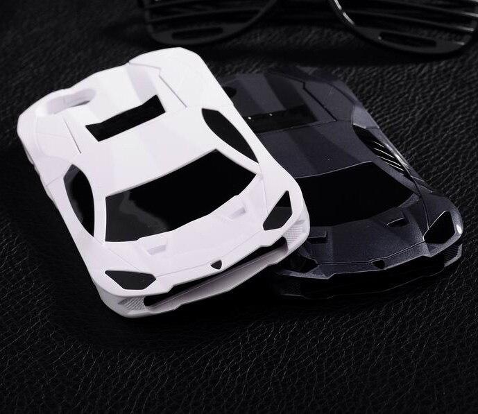 Car-styling personalidad hermoso coche deportivo diseño cubierta de plástico duro 6 para el iPhone 6 s 6 raza soporte para coche