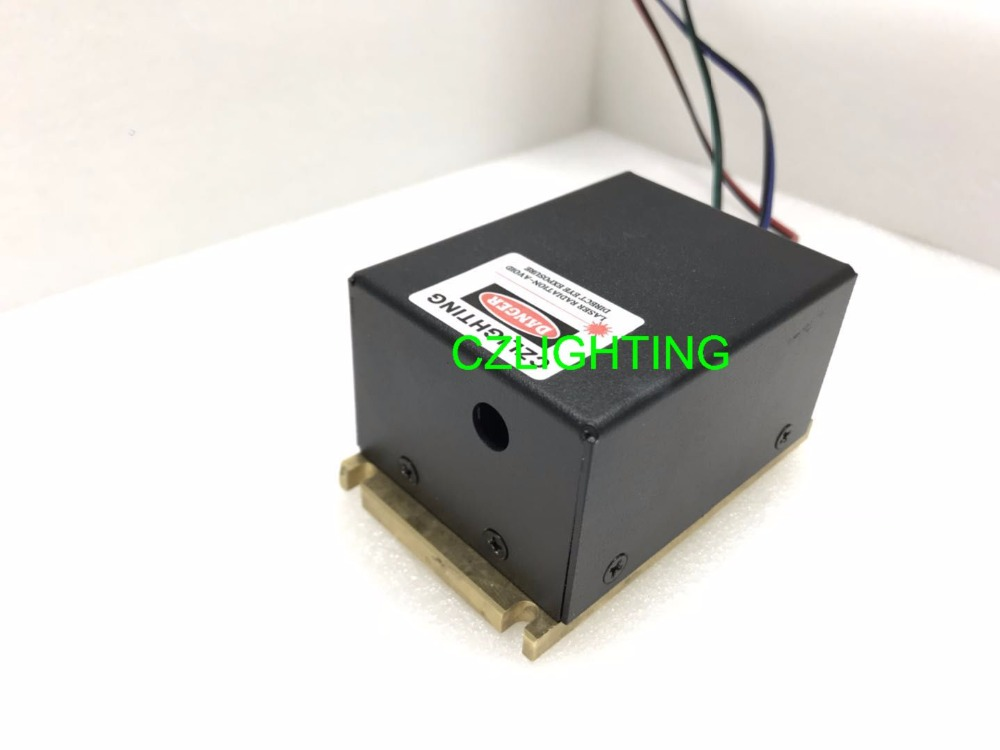 High power laser module 1W RGB Analog modulation /white 1W/Stage light full color laser