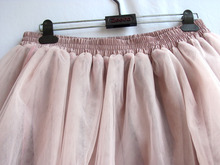 Autumn Tutu Skirt Women Girls Princess Fluffy Pleated  Womens Jupe Femme Faldas Rokken Winter  Custom Made 7 Layers Tulle Skirts