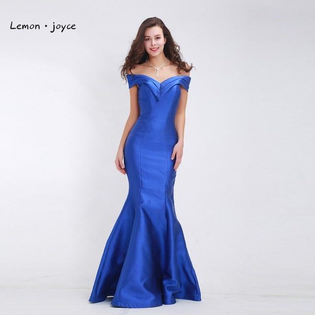 Aliexpress Buy Lemonjoyce Elegant Mermaid Evening Dresses 2018