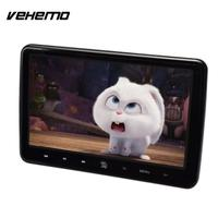Vehemo DC 12V TFT LCD Car Headrest Player DVD Monitor Game Console FM Transmitter Audio Player Portable Recorder