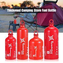 Outdoor Professional Camping Fuel Bottle Alcohol Petrol Kerosene Storage Bottle Alcohol Liquid Gas Fuel Can Empty Bottle 180ml alcohol and liquid container bottle blue