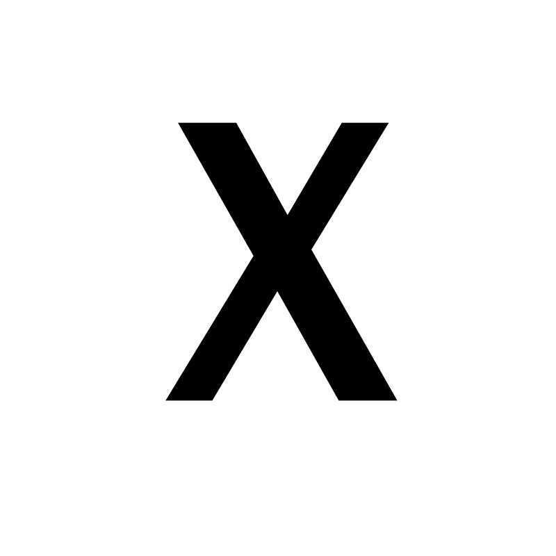 Унисекс, золото, серебро, цвет, A-Z, 26 букв, первоначальное имя, кольца для мужчин и женщин, геометрический сплав, креативные кольца на палец, ювелирные изделия - Цвет основного камня: X