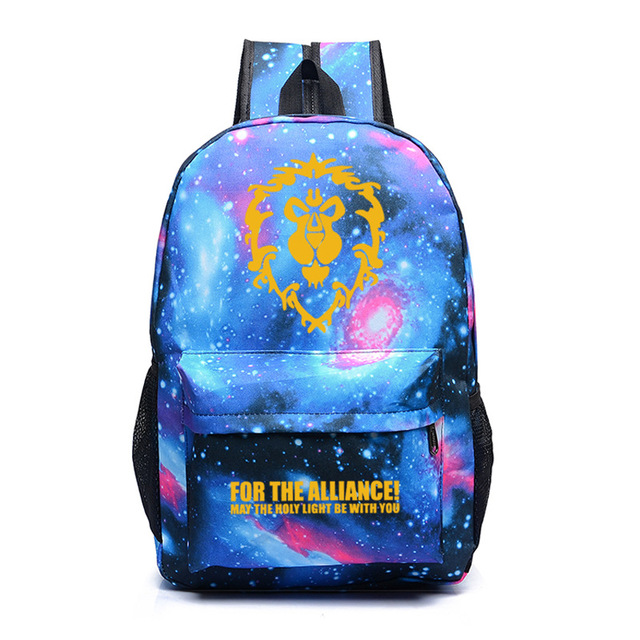 WoW Printed Backpack